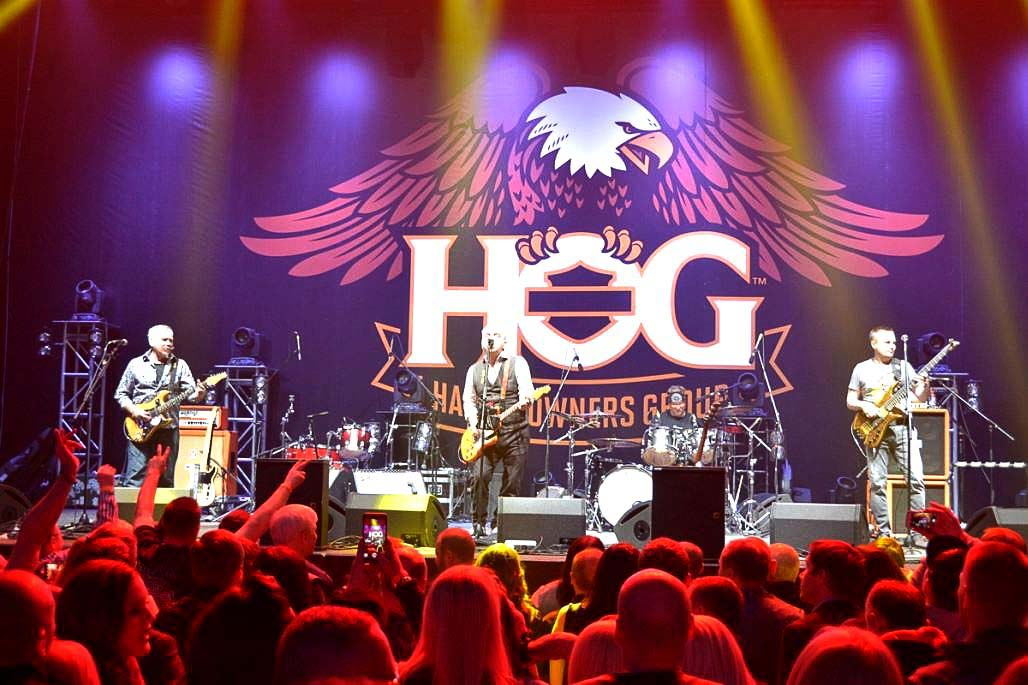 Harley Davidson Party. H.O.G Rally 2016